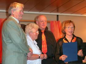 Ehrenmitglieder Willi & Cilia Emmerich